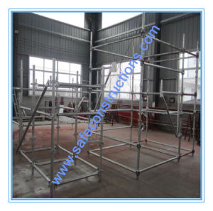Safe Durable Ce Passed Construction Cuplock Scaffolding. pictures & photos