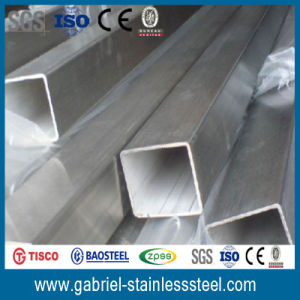 310S Stainless Schedule 40 Steel Square Pipe pictures & photos