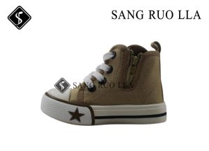 Sport Stock Canvas Boots for Kids Shoes USD1.65 pictures & photos