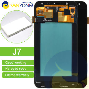 Complete Full LCD Screen for Samsung J7 LCD with Touch Screen Digitizer Assembly pictures & photos