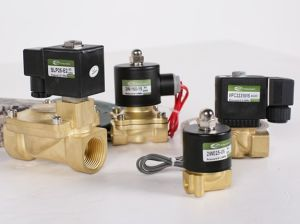 3/2 Compact Zero Pressure Run Brass Solenoid Valve pictures & photos
