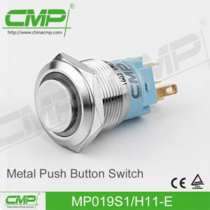 19mm Electric Push Button Switch (stainless steel) pictures & photos