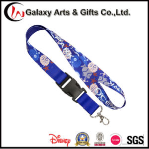 25mm Customized Polyester Material Heat Transfer Sublimation Printed Lanyard