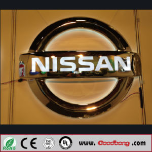 Acrylic Aluminum Printing Auto Logo Sign pictures & photos