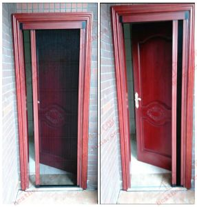 Accordion Zigzag Mesh Screen Door (BHN-FD02) pictures & photos