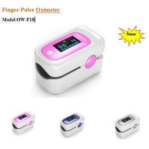 3 Color Finger Pulse Oximeter (OW-F18) pictures & photos