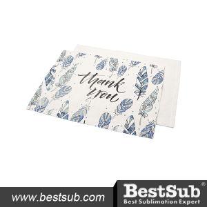 Sublimation Thick Linen Table Mat (30*45cm) (BMCD3045) pictures & photos
