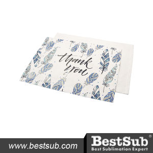 Thick Linen Table Mat (30*45cm) (BMCD3045) pictures & photos