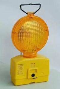 Sitting Type Traffic Barrier Flashing Warning Light pictures & photos