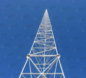 GSM Tubular Mast Communication Tower