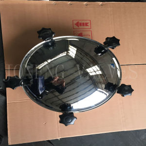 Stainless Steel Round Outward Pressure Manhole Cover&Hatch pictures & photos