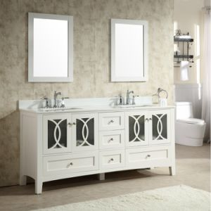 60′′ Modern Floor Mounted Bathroom Vanity with Double Sink pictures & photos