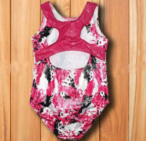 Patterned Girl′s Tank Gym Leotards pictures & photos