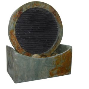Stone Tabletop Fountain with 1.5W Small LED Steel Spot Light pictures & photos