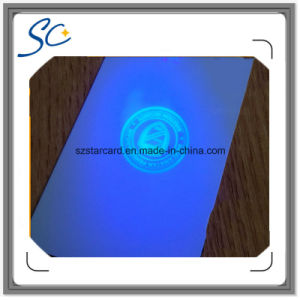 Security Anti Fake PVC Card with Invisible UV and Hologram pictures & photos