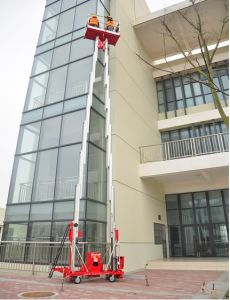 New CMP Serises Double Masts Aerial Work Platform for Sale pictures & photos