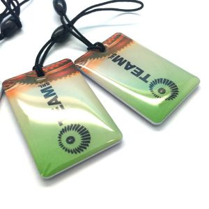 Gym door access MIFARE Classic 1K RFID epoxy key tags pictures & photos