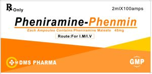 Human Medicine Pheniramine Maleate Injection pictures & photos