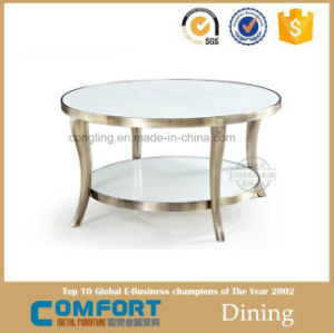 Modern Design Hot Sale Gold Furniture Round Coffee Table pictures & photos