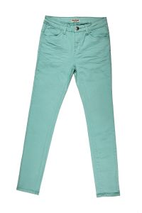 Lady′s High Quality Garment Dye Skinny Twill Pant (MY-001) pictures & photos