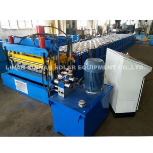 Corrugated Roof Glazed Tile Roll Forming Machine Cutting Machine Bending Machine Machinery pictures & photos