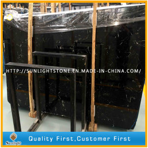 Chinese New Black Ice Flower Marble for Tiles, Worktops, Table Tops pictures & photos
