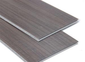 Real Wood Grain WPC Indoor Vinyl Floor pictures & photos