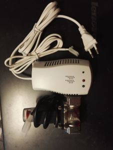Combustible Gas Alarm with Solenoid Valve for Home Security pictures & photos