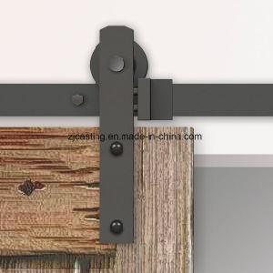 Hot Wholesales Plating Wooden Sliding Door Hardware