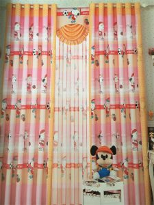 Home Use Curtain Polyester Fabric EDM5330