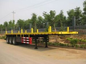 Hot Sale Flat Bed Semi Trailer pictures & photos