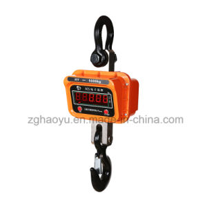 Digital portable Travel Luggage Electronic Hang Crane Scale 10t pictures & photos