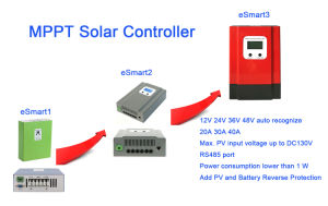 40AMP MPPT 12V/24V/36V/48V Solar Panel Regulator/Controller Esmart3-40A pictures & photos