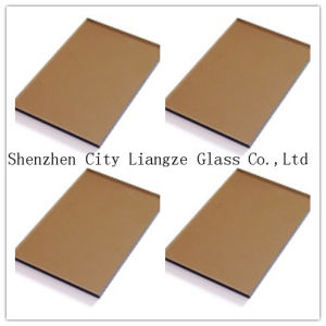 12mm Gray Tea Tinted Glass&Color Glass&Painted Glass for Decoration/Building pictures & photos