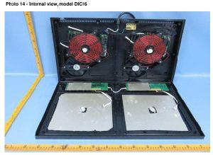 120V ETL 2 burner electric induction burner for USA Market pictures & photos