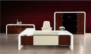 High Glossy Painting MDF Wooden Executive Office Table (HX-ND5019) pictures & photos