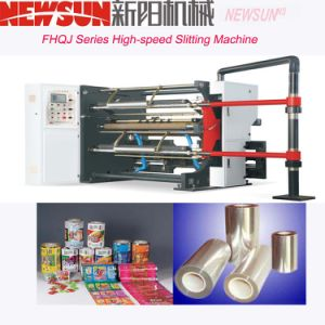 FHQJ Series High-Speed OPP Film Slitting Machine pictures & photos