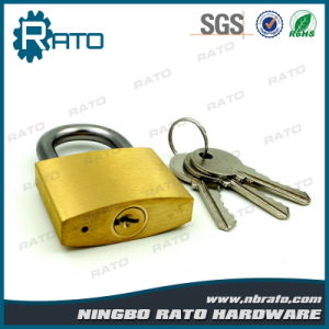 Cheap Thin Type Brass Padlock pictures & photos