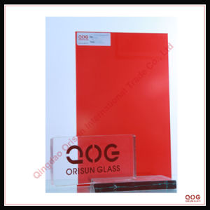 Red Laminated Glass CE, SGS, 3c.