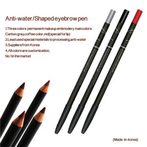 Perfect Waterproof Long Lasting Eyeliner Eyebrow Pencil (ZX5023) pictures & photos