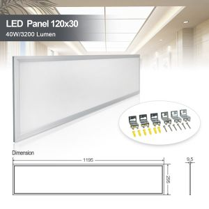 led panel light suspended ceiling recessed shop office lighting panel x 600