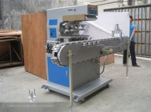TM-T4-Mt Four Colors Pad Printing Machine with Tank Conveyor Belt pictures & photos