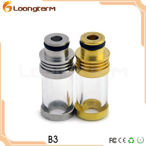 Newest Hot Selling B3 Drip Tips Ecig with 18650 Glass Drip Tip