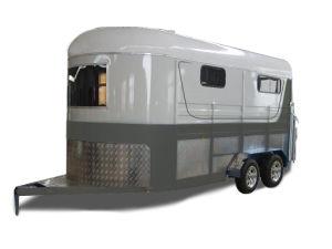 Horse Trailer-3horse Trailer Angle Load Standard