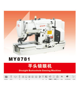Button Hole Sewing Machine (MY-8781)