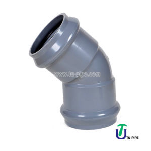 UPVC Two Faucet 45° Elbows F/F DIN Pn10 (Rubber Ring) pictures & photos