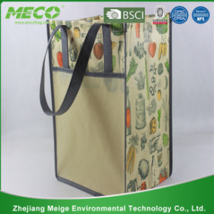 Promotional Customized Logo Printed Non Woven Tote Bags (MECO202) pictures & photos