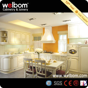 Welbom Best Selling Unique Solid Wood Kithen Cabinet pictures & photos