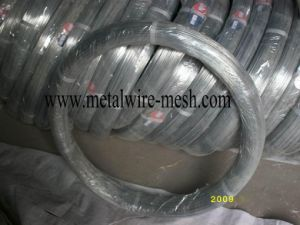 Galvanized Oval Wire 2.4X3.0mm for Farm Fencing pictures & photos