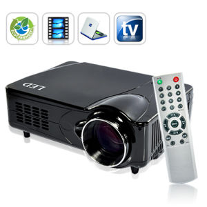 HD 1080P LED Projector for Multimedia Teaching/ Presentation/Conference/Entertainment / Home Theater